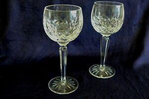 Waterford Crystal Lismore Hock wine Glasses