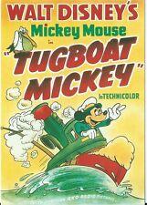 "CPM -Carte postale WALT-DISNEY MICKEY MOUSE  "" TUGBOAT MICKEY "" réf:A 32"