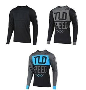 Troy Lee Designs TLD Mens Skyline Speed Shop LS Jersey Mountain Bike Cycle