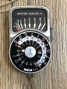Weston Master IV Light Meter - (#7)