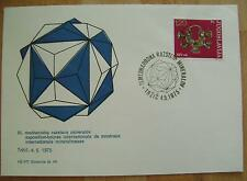 1975 YUGOSLAVIA COVER 3RD INTERNATIONAL MINERALS SHOW TRZIC SLOVENIA MINERAL