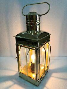 Nautische Messinglaterne elektrische Lampe dekorative hängenden Laterne