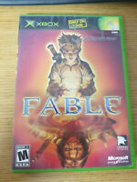 XBOX Fable Video Game w/ Manual Complete