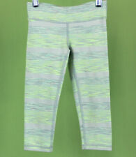 350 Ivivva Lululemon girl leggings crop capri pants athletic sport Euc Size 6