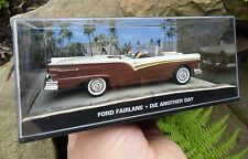 007 JAMES BOND Ford Fairlane DIE ANOTHER DAY 1:43 BOXED CAR MODEL Cuba cruising