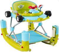 MyChild F1 CAR WALKER RACING GO GO GREEN Musical Baby Activity Toy Walker BN