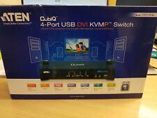 ATEN Cubiq 4-Port USB DVI KVMP Switch - CS1764A