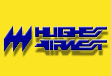 "Hughes Airwest Airlines Logo Fridge Magnet 3.25""x2.25"" Collectibles (LM14065)"