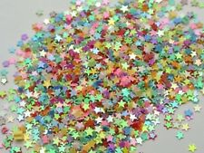50Gram Mixed Color Star Sequins Loose Tiny 3mm Nail Art Scrapbook Craft