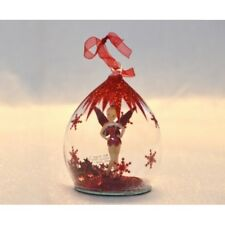 Disney Tinkerbell Dome Bauble Christmas Ornament       N:1505