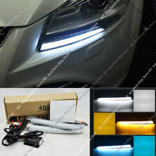 3 COLOR LED DRL DAYTIME RUNNING LIGHT W/TURN SIGNAL FOR FORD KUGA ESCAPE 13-16