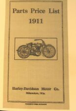1911 Parts Price List  For the 1911 Harley-Davidson Motorcycle 42 Pgs.Fly. Illus