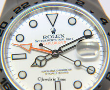 ** Rolex Explorer II Steel White Dial Mens 42mm Watch Box/Papers  216570 **