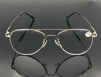 Mens Womens Retro Reading Glasses Readers Vintage 1.0 1.5 2.0 2.5 3.0 3.5 Metal
