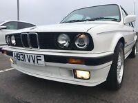 BMW 320i SE AUTO 2dr E30 ALPINE WHITE (NOT 316, 318, 325 model) BBS Alloys