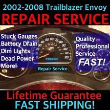 2005 Gm Trailblazer Envoy Instrument Gauge Cer Repair Service 03 05 04 06 Fits 2004 Chevrolet