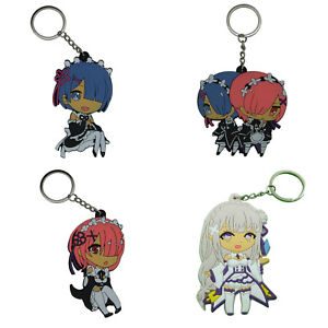 Re:Zero - Starting life in another world double sided PVC key chain