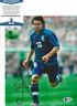 ALESSANDRO DEL PIERO SIGNED ITALY 2006 WORLD CUP 8x10 PHOTO 2 BECKETT COA BAS