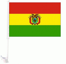 """12x18 Wholesale Lot 12 Bolivia Country Car Vehicle 12""""x18"""" Flag"""