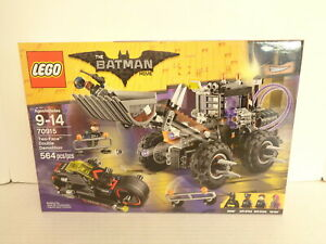 2017 The Lego Batman Movie #70915 Two-Face Double Demolition Building Set MIP
