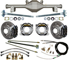 CURRIE 79-93 MUSTANG 5-LUG REAR END & WILWOOD DISC BRAKES,LINES,CABLES,AXLES,ETC