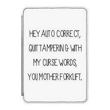"Auto Correct Case Cover for Kindle 6"" E-reader - Funny Spelling Spell Check"