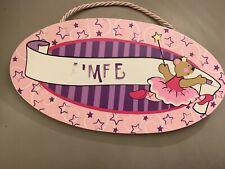 Melissa & Doug Personalised Childs Bedroom Door Sign Name Plaque