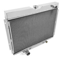 1967 1968 1969 Ford Fairlane 4 Row Core Champion RS Aluminum Radiator