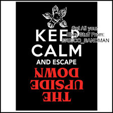 Fridge Fun Refrigerator Magnet STRANGER THINGS -Keep Calm Escape the Upside Down