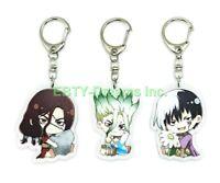 Set of 1 Guilty Crown Anime Girl Acrylic Keychain Inori Yuzuriha Egoist