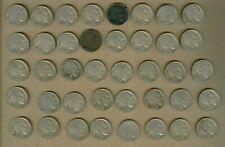 New ListingU.S. Buffalo Nickels Roll No Dates 40 Coins