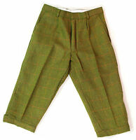 Mens Derby Tweed Breeks Plus Fours Breeches Country Wear 2 Cols Trousers 30-46""