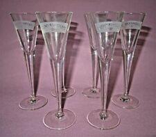 lot de six verres anciens à liqueur publicitaires reimersholms