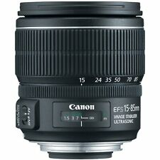 Canon EF-S 15-85mm f/3.5-5.6 IS USM UD Standard Zoom Lens for Canon Digital SLR