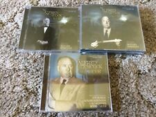 ALFRED HITCHCOCK HOUR volumes 1, 2 & 3 Herrmann etc LIMITED VARESE CD CLUB SEALD