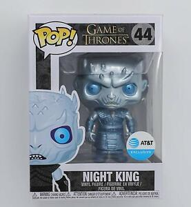 POP! Tv Game of Thrones Metallic Night King #44 Exclusive Funko