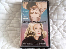 MINNIE AND MOSKOWITZ VHS WS GENA ROWLANDS SEYMOUR CASSEL JOHN CASSAVETES COMEDY