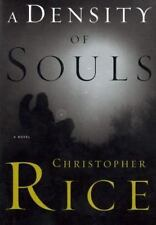 A Density of Souls Rice, Christopher Hardcover