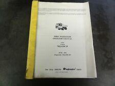 Payhauler 350B/C Off-Highway Truck Operator's Manual     70QA350C3P