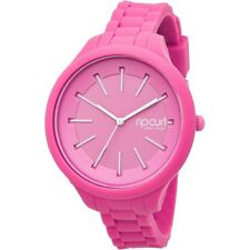 NEW RIP CURL HORIZON LADIES SILICONE WATCH PINK A2803G 42mm #87