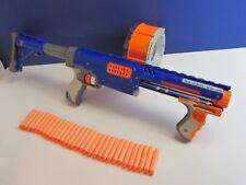 large NERF N STRIKE ELITE RAIDER CS-35 DRUM DART GUN ammo stock LOT 91k