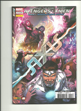 LOT AXIS 1 2 3 4 AVENGERS X-MEN (PORT GRATUIT/BD SUPPLEMENTAIRES) SERIE COMPLETE