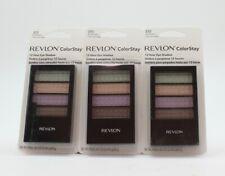 3X Revlon ColorStay Eye Shadow, 12 Hour, Wildflower 370 SEALED,NEW