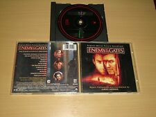 ENEMY AT THE GATES MUSIC CD ORIGINAL MOTION PICTURE SOUNDTRACK USADO BUEN ESTADO