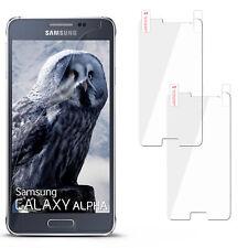 HD Display Schutz für Samsung Galaxy Alpha Schutzfolie Clear Klar Display Folie