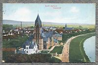 AK Gross Auheim Hanau Teilansicht 1915 gelaufen Ansichtskarte