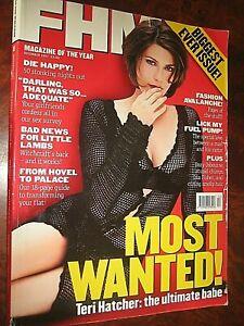 FHM Magazine  December 1997 Biggest Ever Issue.