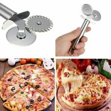 Slicer Nonstick Cutter Grip DIY Pie Pizza Dough Wheel Handy Cutting Blade #dh