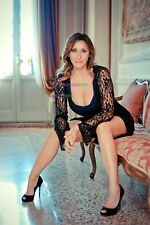 SABRINA SALERNO - NOW - CLEAVAGE - SEXY A4 SIZE GLOSSY PHOTO
