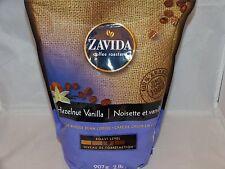 Zavida Hazelnut Vanilla Premium Whole Bean Coffee, 100% Arabica 2lb 907g Fresh
